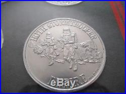 Vintage Star Wars coins, POTF 62 coin set