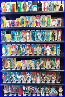 Vintage kenner star wars action figure lot Complete Set All 84 Figures