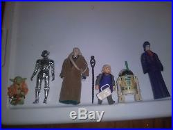 Vintage star wars action figures complete set